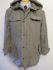"GERMAN ARMY CLASSIC PARKA Military Combat Jacket Coat Olive M 38-40"" Euro 48-50"