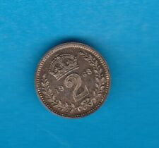 More details for 1968 elizabeth ii silver maundy twopence in mint condition