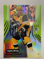 2019-20 Upper Deck Synergy Baer Parallel Green #30 Sidney Crosby Pittsburgh 🐧SP