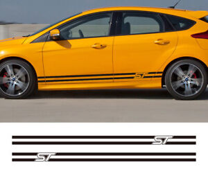 Body Decor Vinyl Decals Car Styling Stickers for Ford Focus ST Sport Door