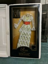 Franklin Mint Titanic Rose Green Tea Dress Franklin Mint Nib