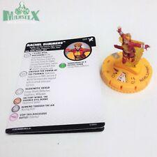 Heroclix X-Men: Regenesis set Rachel Summers #009 Rare Gravity Feed fig w/card!