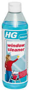 HG Professional Window Cleaner 500ml - Cleans And Degreases Without Streaks