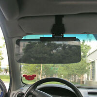 Car Truck Driver Side Sun Visor Shield UV Blocker Tinted Shade Summer Anti-glare