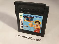 FROM TV ANIMATION ONE PIECE YUME NO LUFFY KAIZOKUDAN TANJOU! GAME BOY COLOR GBC