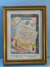 Eunice Kennedy Shriver Sargent Signed Best Buddies Benefit Program Hologram COA