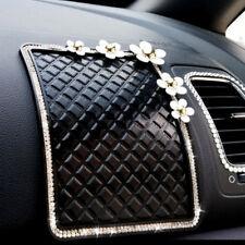 1pcs Diamond Daisy Car Mats Car Skid Storage Box Car Accessories Phone Mat