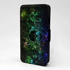 For Apple iPod Touch Flip Case Cover Sugar Skull - A247