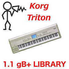 1.1gB+ Korg Triton Sound Library Programs Patches Samples - D0wnload