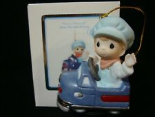 New ListingPrecious Moments-Locomotive Train Engineer (Pedal Car) Orn-Let's Enjoy The Ride
