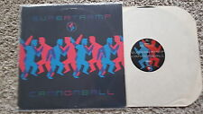 "Supertramp-Cannonball 12"" vinyl MAXI us promo"