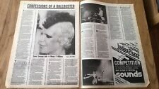 WENDY O WILLIAMS ballbuster 1981 2 page UK ARTICLE / clipping - PLASMATICS