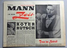 """Zeitschrift  """"Mann in der Zeit""""  Mai 1959, Roter Rutsch; Südtirol; SPD; Bauern"""