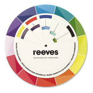 Reeves Water Colour Mixing Theory Wheel