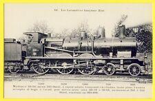 CPA LOCOMOTIVE FRANÇAISE des CHEMINS de FER de l'ÉTAT Train construite en 1899