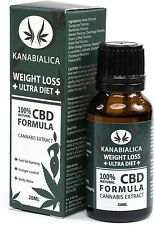 KANABIALICA - drops 20ml. Weight loss +ULTRA DIET+ Hemp oil. 100% Natural