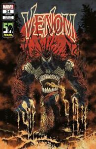 Venom #34 Superlog Variant Marvel Comics 2021 NM+ 9.6