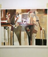 """Rare Yuri Tremler Lithograph""""All That Jazz"""" Signed Numbered 333/490 16""""x 13"""""""
