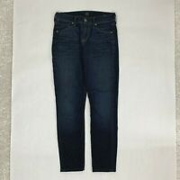 Citizens of Humanity Womens Jeans 25 Thompson Medium Rise Cropped Skinny Pants