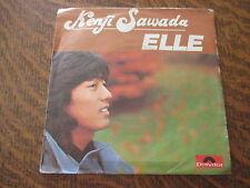 45 tours kenji sawada elle