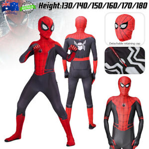 Spider-Man:Homecoming Spiderman Red Mask Cosplay Party Halloween Fancy Dress Toy