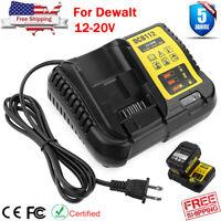 For DEWALT DCB112 12V-20V MAX Lithium Fast Charger Replaces DCB107 DCB102 DCB101