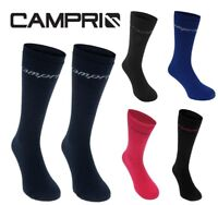New CAMPRI SKI SOCKS Lightweight/Winter/Tube - Ladies/Mens/Junior/Kids - 2 Pack
