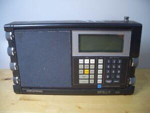 GRUNDIG SATELLIT 500 WORLD RECEIVER RADIO TRANSISTOR  VINTAGE