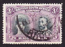Rhodesia 1910-14 3/- SG158 VFU