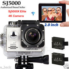 "2"" Sport Action Camera SJ5000 Camcorder 1080P Full HD DV Cam Parts for Gopro"