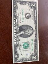 US  $2.00 DOLLAR BILL,SERIES G 1976