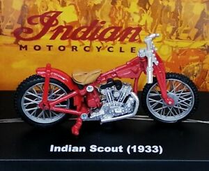 Indian Scout (1933) miniature Motocycle New Ray Scale 1:32 NWB