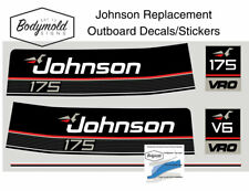 Johnson 175hp 1989 to 1990 Style Replacement Decals/Stickers