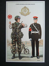 MILITARY POSTCARD CORPS OF ROYAL MILITARY POLICE