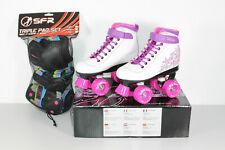SFR Vision II Rollschuhe Skates Kinder Lila Gr. 34 (Retourenware) (S183)