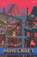 JINX MINECRAFT VIDEO GAME POSTER NEW FREE SHIPPING