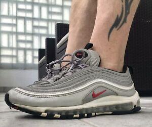 USED Nike Air Max 97 Silver Bullet silber US10 EUR 44 tn tl shox nmd gay