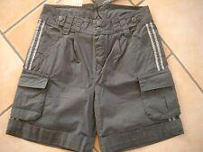 (H274) Little Marc Jacobs Boys Bermuda Hose Shorts Cargohose mit Streifen gr.116