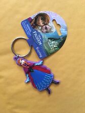 Disney Frozen Soft Touch PVC Key Ring: Anna new