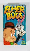 Elmer And Bugs Elmer Fudd & Bugs Bunny VHS Video Tape 1991 Animated Warner Bros