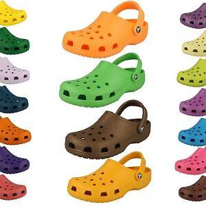 Unisex Crocs Rubber Clogs - Beach