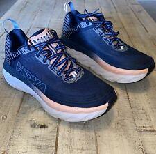 New listing Hoka One One Womens Bondi 6 1019270 MIDP Blue Running Shoes Lace Up Size 8.5