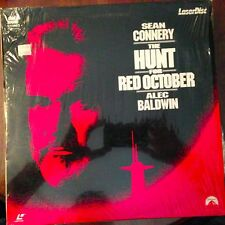 The Hunt For Red October -  Laserdisc Buy 6 for free shipping