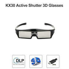 Active Shutter 3D Glasses for Optoma Sony DLP 3D projector USB Rechargeable US
