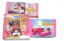 Barbie, Gloria Doll Furniture, Living, Bedroom, Bath Room Set
