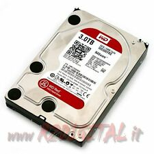 "HARD DISK WESTERN DIGITAL 3Tb WD Red INTERNAL 3,5"" disk DRIVE OPTIMIZED for NAS"