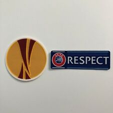 2012-15 UEFA Europa League Set of UEL and Respect Sleeve Patches