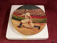 "1993 ISSUE ""HONUS WAGNER"" Limited Edition ""COLLECTOR PLATE w/ ""GOLD"" Card"
