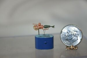 Miniature Dollhouse St Leger England Well Endowed Mermaid Working Automaton Toy