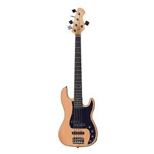 Artist VHYB5 Vintage Hybrid V 5 String P-J Style Bass Guitar